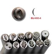 BIJ-692-4, KENT Metal Punch Stamp, Size 3.0mm Parenthesis Mark Sold Individually