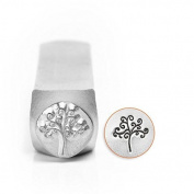ImpressArt- 6mm, Tree of Life Metal Stamp