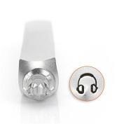 ImpressArt- 6mm, Headphones Metal Stamp