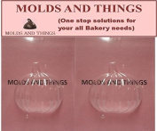 Moulds and Things 3D Pumpkin - 2 Mould Set Chocolate Candy Mould