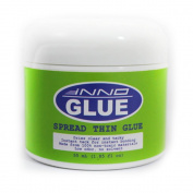 Innoglue Spread Thin Glue, Wrinkle Free, Instant Tack and Bond, Repositionable, Arts Craft, 55ml, Scrapbooking, Greeting Card, Water Based Adhesive, Thixotropic Paste, Dries Clear, Non-toxic