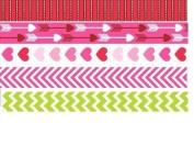 2014 Valentine/spring Paper Tape - Set of 5