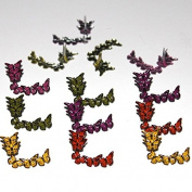Eyelet Outlet Shape Brads 12/Pkg-Butterfly Corner