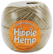 Pepperell Premium Quality Hippie Hemp Cord for Jewellery Making, 120m, Natural
