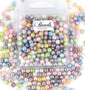 Beads Direct USA's Glass Pearls Mix 200pcs 6mm - Pastel Mix