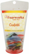 Fuseworks 60ml Colour Variety Mix Confetti 90 COE Fusible Glass, Assorted Colours