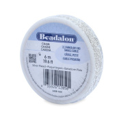Beadalon 2.3mm Jewellery Making Chain, 6m, Small Cable, Silver Plated