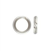Sterling Silver 19 Gauge 8.2mm Split Ring. Sold as - 10 Pieces Per Pack