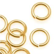 Brass JUMPLOCK Jump Rings 8mm Diameter 16 Gauge Thick