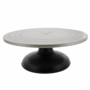 US Art Supply® LARGE 30cm Diameter Sculpting Wheel- Heavy Duty All Metal Construction & Turntable with Ball Bearings