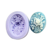 Rose Silicone Resin Clay Moulds Handmade Resin Mould Polymer Clay Mould