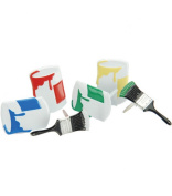 Eyelet Outlet Brads - 12PK/Paint Mates