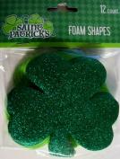 Saint Patrick's Foam Shapes 12 Count
