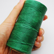 284yrd green Leather Sewing Waxed Thread 150D 1mm Leather Hand Stitching 125g