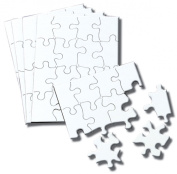 (4 Pack)Colour Your Own 4x5 Puzzle 16 Piece