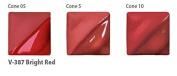 Amaco Velvet Underglaze - 60ml - V-387 Bright Red