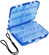Beading Tools-Blue Mini Travel Box