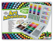 Royal Brush Manufacturing Company Art Adventure 252-Piece Art Set
