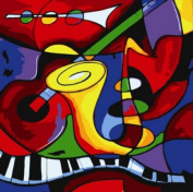 Abstract Music by Picasso-DIY Painting decorative painting canvas modern art 41cm x 50cm Frameless