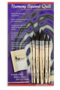 Harmony Squirrel Quill Set of 6