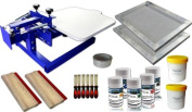 Single Colour Screen Printing Hobby Kit-006953