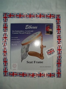 Elbesee Embroidery Seat Frame Includes 15cm , 20cm and 25cm Hoops Made in Great Britain!