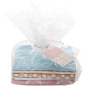 Papermania 5-Piece Spots/Stripes Pastels Fat Quarter Bundle