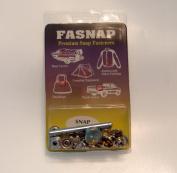 Fasnap Premium Snap Fastener Snap Repair Kit