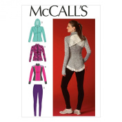McCall's Patterns M7026 Misses' Jackets and Leggings, A5