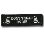 Don't Tread On Me Tactical Morale Patch - Black