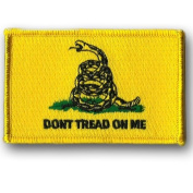 Gadsden Don't Tread On Me Tactical Patch - Yellow - by Gadsden and Culpeper