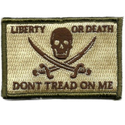 Calico Jack Tactical Patch - Multitan by Gadsden and Culpeper