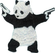 Application Panda With Gun Patch