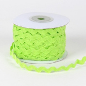 Apple Green Ric Rac Trim 10mm - 25 Yards