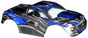 Redcat Racing Truck Body (1/10 Scale), Black/Blue