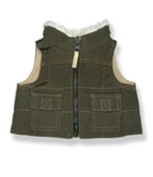 Brown Vest 20cm - 9023 Fits 20cm - 25cm bears, includes Build a Bear, The Bear Mill, and Stuff your own Animals.