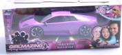 Jada Toys GirlMazing R/C Lamborghini Murcielago (1:16 Scale), Purple