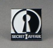 Metal Enamel Pin Badge Brooch - Secret Affair