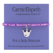 Carrie Elspeth For a Little Princess Crown Children's Bracelet
