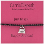 Carrie Elspeth Just To Say Happy Birthday Handbag Bracelet