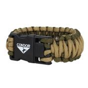 Condor USB Paracord Bracelet - Tan / OD - L