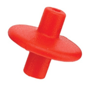 Pine Ridge Archery Slide-On Kisser Button (Pack of 1), Red, X-Large
