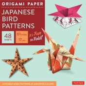 "Origami Paper - Japanese Bird Patterns - 6 3/4"" - 48 Sheets: Tuttle Origami Paper"