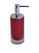Gedy TI81-06 Red Finish Soap Dispenser
