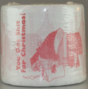 You Get Sh*t For Christmas Funny Novelty Toilet Paper from The Gag