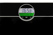 Ozeri ZB21 WeightMaster 180kg Digital Bath Scale with BMI and Weight Change Detection, Black