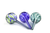 Aqua Globe Mini - 3 Pack - Decorative Hand-blown Glass Small Plant Watering Bulbs
