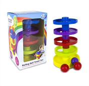 Baby Rolling Ball 5 Tier Tower