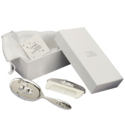 Twinkle Twinkle Silverplated Brush/Comb Set