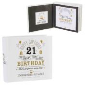 Signography Birthday Photo Album 4''x6'' - 21st